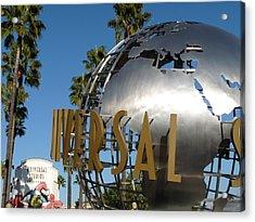 Universal Studios Globe Acrylic Print