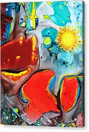 Universe Four Acrylic Print by David Raderstorf