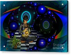 Universe Acrylic Print by Shadowlea Is