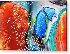 Universe Six Acrylic Print by David Raderstorf
