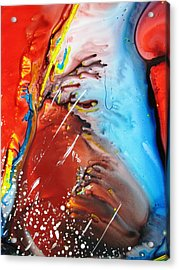 Universe Two Acrylic Print by David Raderstorf