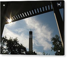 University At Albany Tower Acrylic Print