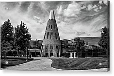 University Center B W Acrylic Print