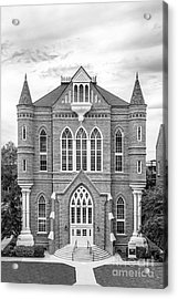 University Of Alabama Clark Hall Acrylic Print by University Icons
