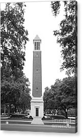 University Of Alabama Denny Chimes Acrylic Print by University Icons