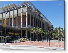 University Of California At Berkeley Martin Luther King Jr Asuc Student Union Sproul Plaza Dsc6241 Acrylic Print