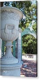 University Of California At Berkeley Sproul Plaza And Sather Gate Dsc6288 Acrylic Print