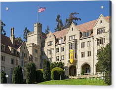 University Of California Berkeley Historical Bowles Hall College Dormatory Dsc4759 Acrylic Print by Wingsdomain Art and Photography