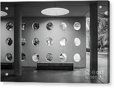 University Of California Riverside Watkins Hall Acrylic Print by University Icons