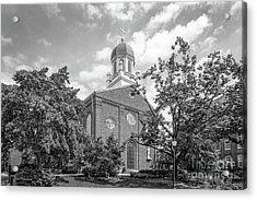 University Of Dayton Chapel Acrylic Print