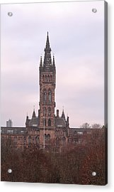University Of Glasgow At Sunrise Acrylic Print