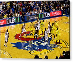 University Of Kansas Cole Aldrich Acrylic Print