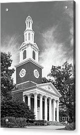 University Of Kentucky Memorial Hall Acrylic Print by University Icons