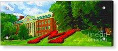 University Of Maryland  Acrylic Print