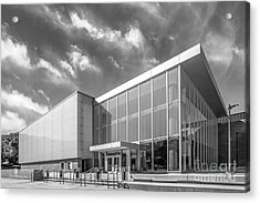 University Of Michigan Arthur Miller Theater Acrylic Print by University Icons