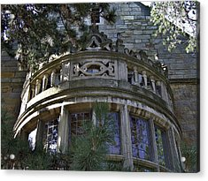University Of Michigan Campus Building Acrylic Print