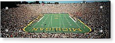 University Of Michigan Stadium, Ann Acrylic Print by Panoramic Images