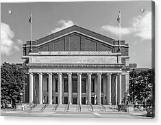 University Of Minnesota Northrop Auditorium Acrylic Print by University Icons