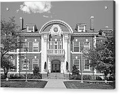 University Of New Haven Maxcy Hall Acrylic Print by University Icons