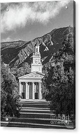 University Of Redlands Memorial Chapel Acrylic Print