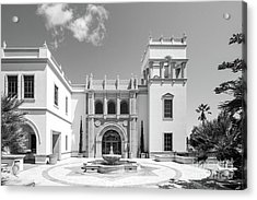 University Of San Diego Hill Hall Acrylic Print