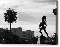 University Of Southern California Tommy Trojan Acrylic Print by University Icons