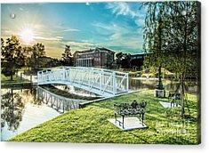 University Of Southern Mississippi Acrylic Print