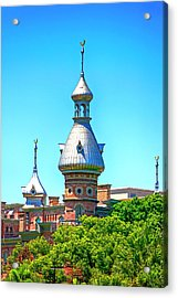 University Of Tampa Minaret Fl Acrylic Print