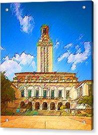 University Of Texas Acrylic Print