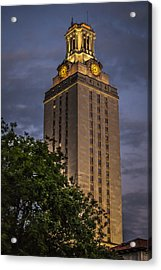 University Of Texas Tower Acrylic Print