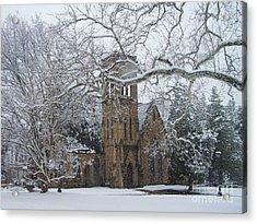 University Of Virginia Chapel Acrylic Print by Charlotte Gray