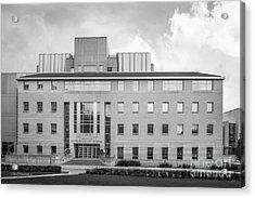 University Of Wisconsin Biotechnology Center Acrylic Print by University Icons