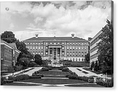 University Of Wisconsin Madison Agricultural Hall Acrylic Print by University Icons