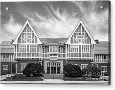 University Of Wisconsin Madison Stock Pavilion Acrylic Print by University Icons