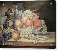 Unknown Acrylic Print by Anne-Elizabeth Whiteway