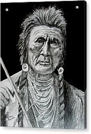 Unknown Indian V Acrylic Print by Stan Hamilton