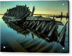 Unknown Shipwreck Acrylic Print by Jakub Sisak