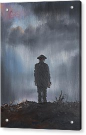 Unknown Soldier Acrylic Print by Vincent Alexander Booth