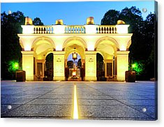Acrylic Print featuring the photograph Unknown Soldiers' Grave by Fabrizio Troiani