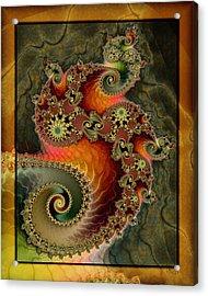 Unleashed Dragon Acrylic Print