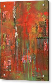 Unlikely Angels Acrylic Print by Suzanne Kfoury