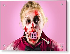 Unlucky Dead Person Losing In The Game Of Life Acrylic Print by Jorgo Photography - Wall Art Gallery