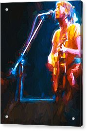 Unplugged Acrylic Print by Bob Orsillo
