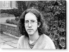Unshaven Photographer, 1972 Acrylic Print