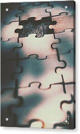 Unsolved Puzzle Acrylic Print