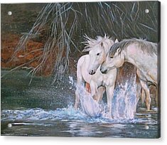 Unspoken Persuasion Acrylic Print by Karen Kennedy Chatham