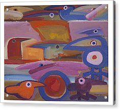 Untitled - 28-98 Acrylic Print by Rogerio Dias