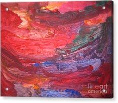 untitled 110 Original Painting Acrylic Print