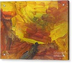 Untitled 117 Original Painting Acrylic Print