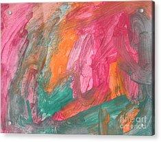Untitled 119 Original Painting Acrylic Print